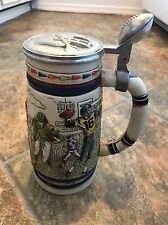 Avon Collectibles 1983 Football Through The Decades Lidded Beer Stein Mug