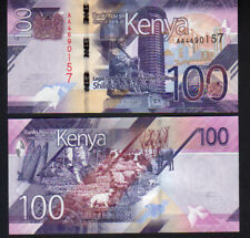 "Kenya 100 Shillings 2019, Pick New Mint Unc ""AA prefix"""