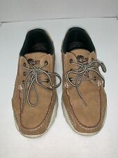 Island Surf Men's Atlantic Boat Boater Sailing Tan Water Shoes Size 9M