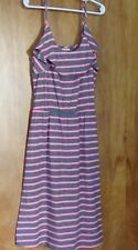 0342c7a2994 Women s Juniors MOSSIMO Slip On Casual Sundress M Gray   Pink Striped