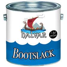 Halvar skandinavischer PU Bootslack Bootsfarbe Yachtlack ALLE RAL Lack-Farben