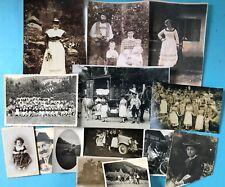 90x privat Foto Fotografie Schliersee Bauer Tracht Hütte Landschaft Kind ab 1910