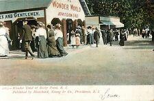 """Wonder World"" at Rocky Point Amusement Park, Warwick RI 1907"