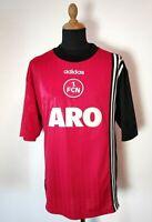 Vintage 1. FC Nürnberg Trikot Adidas 1997/98 Gr.L/XL + Nr.8 Rot Shirt Aro 1.FCN