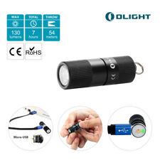 Olight i1R EDC Mini Schlüsselanhänger Taschenlampe 130LM  Micro USB Rechargeable