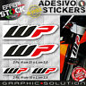 Adesivi / Stickers WP RACING SUSPENSION SHOCK KTM HONDA DUCATI BETA SUZUKI KAWA