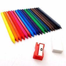 18 x enfants effaçable crayons vibrant Less désordre loisirs créatifs dessin