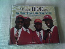 BOYZ II MEN - IN THE STILL OF THE NIGHT - UK CD SINGLE
