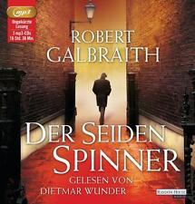 Robert Galbraith - Der Seidenspinner (ungekürztes Hörbuch 3 MP3-CDs) JK Rowling