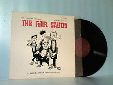 "THE FOUR SAINTS ""AT THE RAQUET CLUB"" LIMITED EDITION LP-RCR-6101 1961 NO BR CODE"