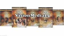 5 Pack Salomon / Jesus / Jeremias / Genesis / Ester DVD NEW  Biblia SHIPS NOW !