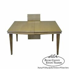 Heywood Wakefield Champagne Mid Century Solid Maple Dining Table