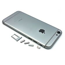 Metal Back Battery Cover Housing Case for iPhone 6 Space Grey