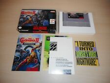 Super Castlevania IV 4 Complete Game CIB SNES Original Super Nintendo Original