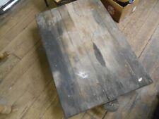 Vintage Warehouse Industrial Factory Cart Dolly  Platform