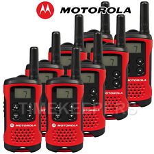 4 km MOTOROLA TLKR T40 Talkie Walkie 2 Bidirectionnelle PMR 446 compact radio huit Set