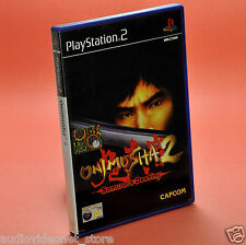 ONIMUSHA 2 SAMURAI'S DESTINY PS2 italiano usato