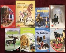 Pony Book Lot (8) - 6 HC, 1 PB & 1 Horse Angel Comic Book , Horses FREE Shipping