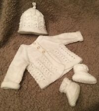 981b268be Knitted Matinee Sets in Girls  Outfits   Sets 0-24 Months