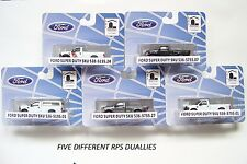 HO RIVER POINT STATION : ALL FIVE NEW FORD DUALLY RELEASES : 1/87 Model Trucks