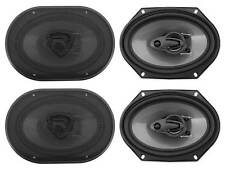 "(4) Rockville RV68.3A 6x8"" 3-Way Car Speakers 1800 Watts/340 Watts RMS CEA Rated"