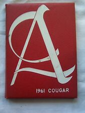 1961 ALBANY HIGH SCHOOL YEARBOOK ALBANY, CALIFORNIA  THE COUGAR
