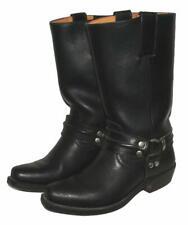 SENDRA BOOTS Western- Stiefel / Biker- Lederstiefel in schwarz US GR. 5 ca. 38