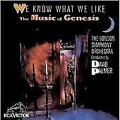 WE KNOW WHAT WE LIKE THE MUSIC OF GENESIS LONDON SYMPHONY ORCHESTRA CD