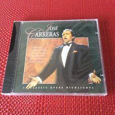 13 CLASSIC OPERA HIGHLIGHTS Jose Carreras Audio CD Album NEW SEALED MINT