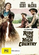 Ride The High Country (DVD, 2007) Very Good