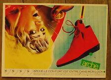 Carte postale publicité chaussures Arche  , postcard