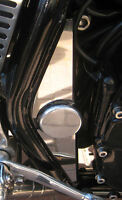 YAMAHA XJR 1200 / 1300 MIRROR POLISH STAINLESS STEEL FRAME COVERS ALL YEARS 018