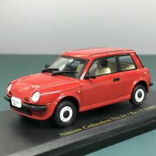 Mini Car Nissan Be-1 1987 1/43 Scale Box Display Diecast vol 24