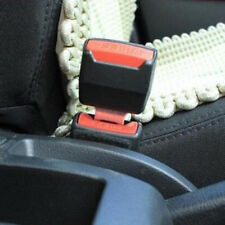 2x Car Auto Safety Seat Belt Buckle Extension Extender Clip Alarm Stopper Useful