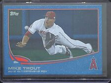 2013 Topps Blue Sparkle #536 Mike Trout