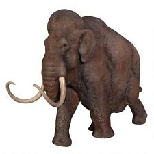 Extinct Ancient Woolly Mammoth Elephant The Ice Age Scaled Hand Painted Statue
