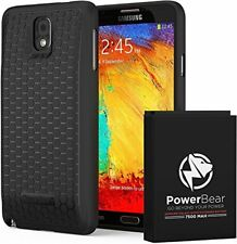 PowerBear Samsung Galaxy Note 3 Extended Battery [7500mAh] & Back Cover &
