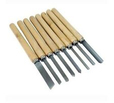 8 Pc Wood Lathe Chisel Set, Wood Carving, Wood Working Chisel Set