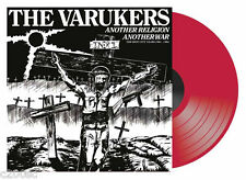 THE VARUKERS - ANOTHER RELIGION ANOTHER WAR, 2015 RECORD STORE DAY RED vinyl 2LP