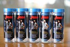 Penn Racquetball Blue Balls 5 3-ball Cans, a total of 15 balls, Ultra Blue Ball