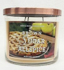 Bath & Body Works Home BROWN SUGAR ALLSPICE 3-Wick Candle 14.5 oz