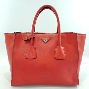PRADA Tote Bag leather Women
