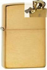 Zippo 168 brushed brass armor Lighter with PIPE INSERT PL