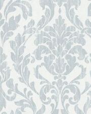 Marburg Tapete Nabucco 58036 Ornamento Azul Claro Blanco Satén Papel Pintado