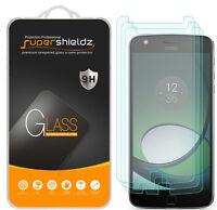 3X Supershieldz Motorola Moto Z Play Tempered Glass Screen Protector Saver