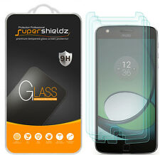 3X Supershieldz Motorola Moto Z Play Tempered Glass Screen Protector Saver