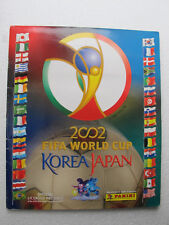 PANINI WORLD CUP KOREA JAPAN 2002 COMPLETE STICKERS ALBUM FULL EDITION MEXICO