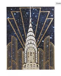 Chrysler Building High Gloss Wall Canvas