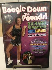 Richard Simmons Boogie Down the Pounds 2006 Disco workout exercise aerobic Dvd