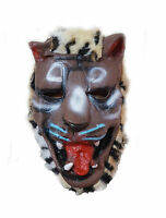 Adult Latex Scary Animal Mask Halloween Fancy Costume Dress Prank UK Stock